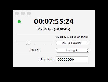 professional midi timecode interface